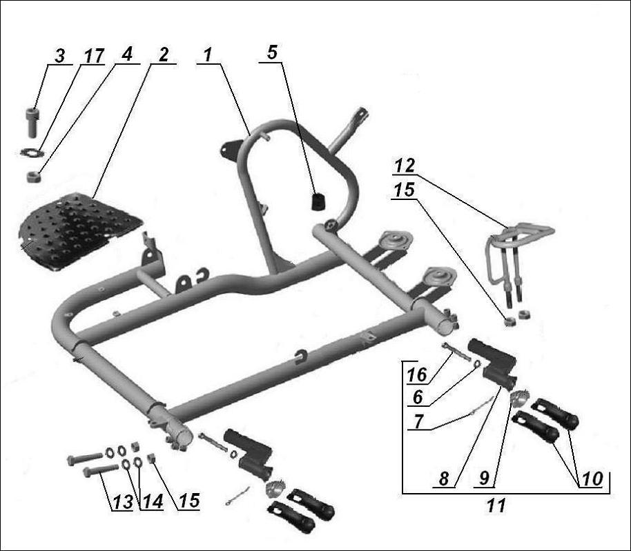 model details - imz ural