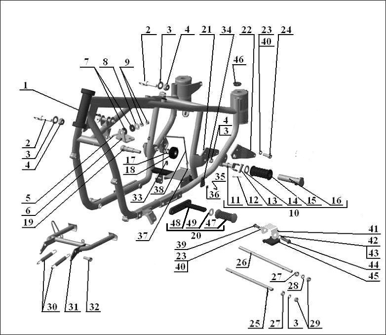 triumph pre unit engine diagram bsa engine wiring diagram